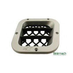 Grille air aspiration moteur DEFENDER KBX Noir mat