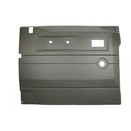 Garniture de porte gris foncé avant gauche Defender