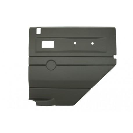 Garniture de porte gris foncé arrière droite Defender