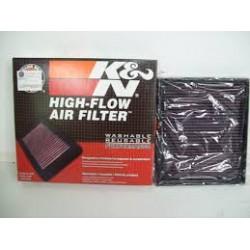 Filtre à air performance K&N pour DEFENDER TD5 Range Rover P38 2.5 TD  jusqu'a 1997 inclus