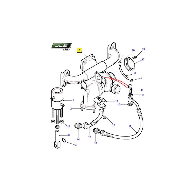 turbocompresseur oem defender discovery range rover