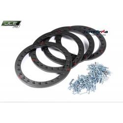 Kit Beadlock pour 4 jantes en aluminium en 16pouces pour Defender 90/110/130 et Discovery 1