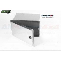 Coffre latéral inox Terrafirma pour Defender 110 hard top et pick-up uniquement à partir de 1983