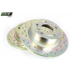 Disque de frein AR  ventilé rainuré et percé DISCOVERY TD5   V8 et P38