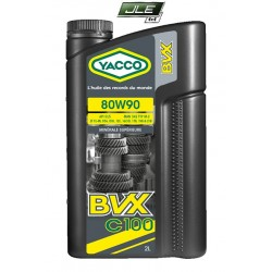 Yacco huile minérale BVX C100 80W90