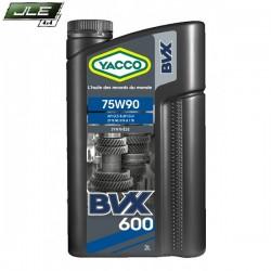 Yacco huile synthèse BVX600 SAE 75W-90