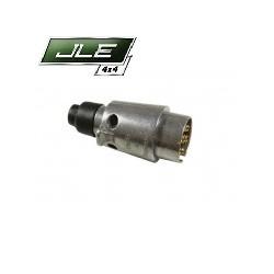 Prise d'attelage remorque 12N 7 pin aluminium