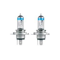 Paire d'ampoules  H4 Xenon (90% plus lumineuses)