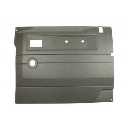 Garniture de porte gris foncé avant droite Defender