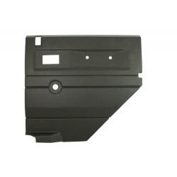 Garniture de porte arrière gris foncé droite Defender