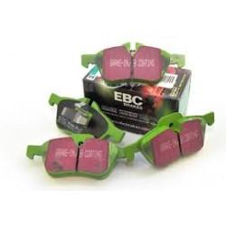 Plaquettes de freinavant EBC pour P38etDiscovery 2